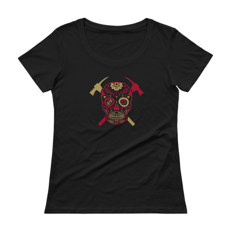 Touchdown Ladies Triblend Tee