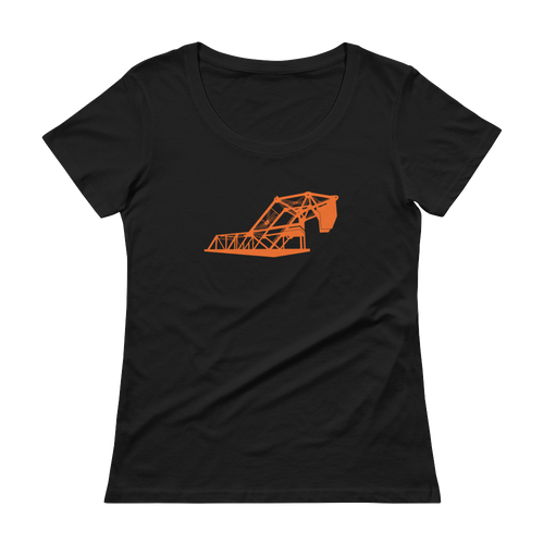 Lefty O'Doul Bridge Ladies Scoopneck Tee