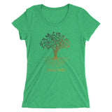 Oakland Ladies Triblend Tee
