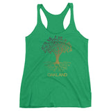 Oakland Ladies Triblend Tank