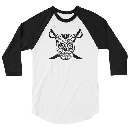 SF Sugar Skull Ladies Scoopneck Tee