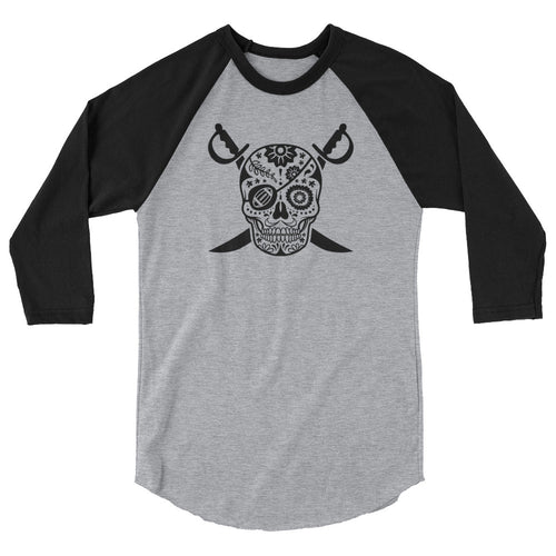 Black Hole Skull Baseball Shirt