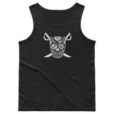 Black Hole Skull Mens Athletic Tank