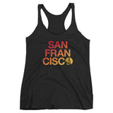 San Francisco Ladies Triblend Tank