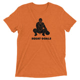 Squat Goals Mens Triblend Shirt