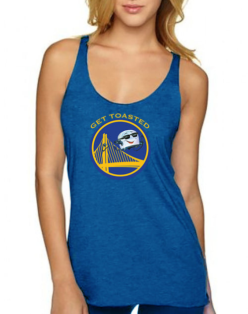 Get Toasted Ladies Triblend Tank