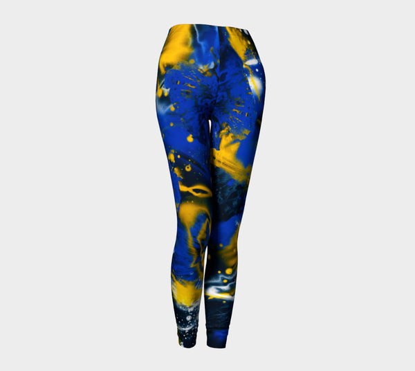 Warriors Galaxy Leggings