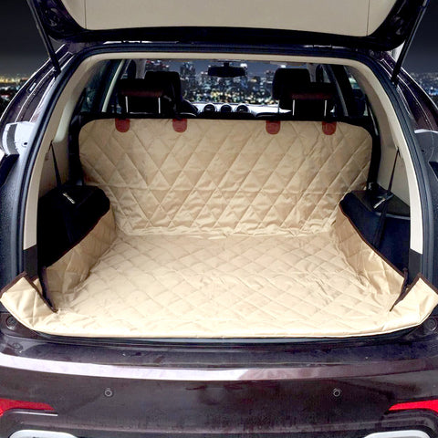 Dual-use soft SUV dog Car Trunk Mat dog car Seat Cover