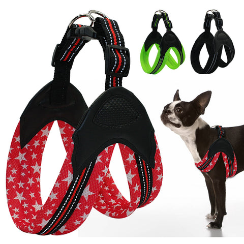 Reflective Dog Harness Security Padded Mesh