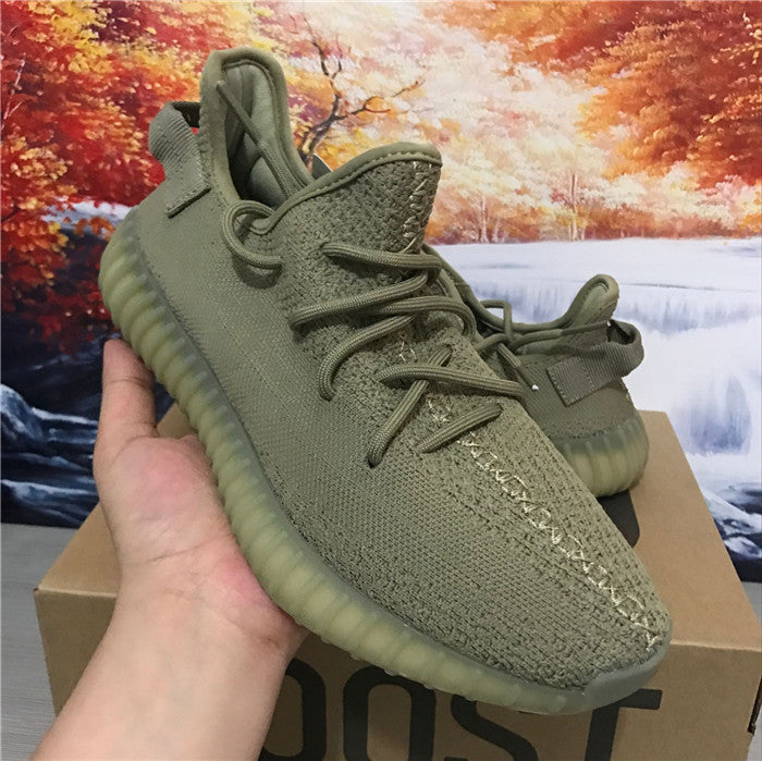 wholesale dealer eb32a b4e84 Adidas Yeezy Boost 350 V2 Dark Green Sneaker,- Aesthetic best website to  buy quality