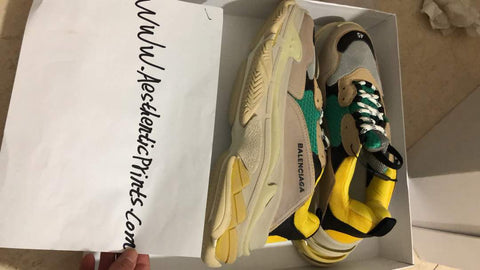 Copy of Balenciaga triple S replica trainer sneaker shoe