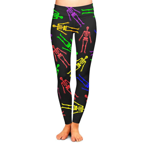 Neon Skeleton Leggings,- Aesthetic best website to buy quality replica ua adidas yeezy boost 350 v1 and v2 sneakers