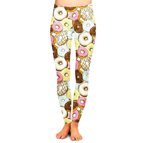 Donuts Leggings,- Aesthetic best website to buy quality replica ua adidas yeezy boost 350 v1 and v2 sneakers