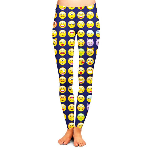 Emoji Leggings,- Aesthetic best website to buy quality replica ua adidas yeezy boost 350 v1 and v2 sneakers