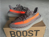 Adidas yeezy suply boost 350 v2 beluga grey and orange stripe -yeezy boostv2-rolex-replica watch-patek-philippe