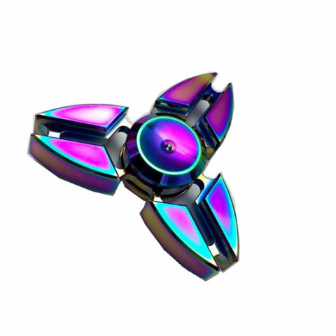 Ecubee EDC Hand Spinner Fidget Spinner Gadget Tri-Spinner Finger Reduce Stress Gadget,- Aesthetic best website to buy quality replica ua adidas yeezy boost 350 v1 and v2 sneakers