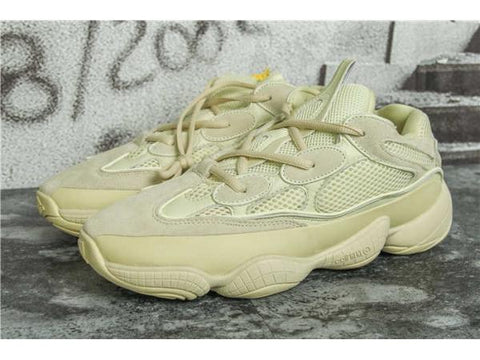 replica adidas x yeezy boost desert rat runner 500 SUPER MOON YELLOW sneaker