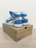 Blue OFF-WHITE X NIKE AIR JORDAN 1 HIGH MENS SNEAKERS -yeezy boostv2-ua-hypebeast-designer replicas clothing