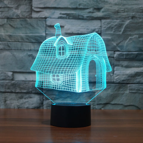 House shape LED lamp,- Aesthetic best website to buy quality replica ua adidas yeezy boost 350 v1 and v2 sneakers