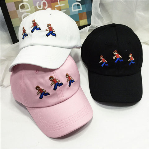 "AestheticPrints® ""when she says come over"""" emoji snapback,- Aesthetic best website to buy quality replica ua adidas yeezy boost 350 v1 and v2 sneakers"