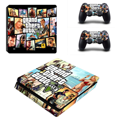 Grand Theft Auto V PS4 Slim Skin Sticker,- Aesthetic best website to buy quality replica ua adidas yeezy boost 350 v1 and v2 sneakers