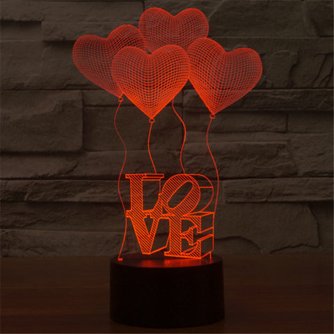 Glowing Love Illusion light,- Aesthetic best website to buy quality replica ua adidas yeezy boost 350 v1 and v2 sneakers