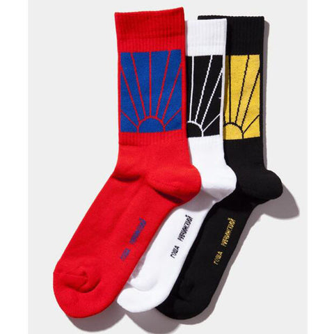 Gosha Rubchinskiy Paccbet Unisex Long Socks,- Aesthetic best website to buy quality replica ua adidas yeezy boost 350 v1 and v2 sneakers