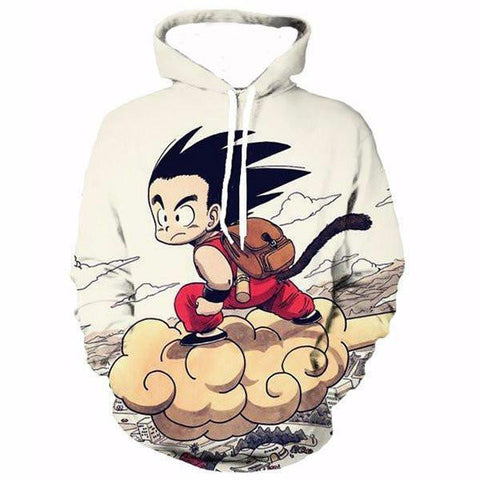 Dragon Ballz  Kid Goku Hoodie,- Aesthetic best website to buy quality replica ua adidas yeezy boost 350 v1 and v2 sneakers