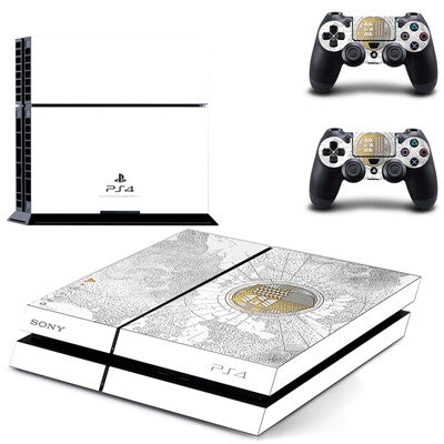 Destiny Custom Sticker For Sony PS4 Skin Console & 2 Pads For Playstation 4 Cover,- Aesthetic rave party cool clotheS APPAREL replica yeezy shoes