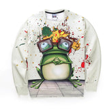 Mr Froggie Unisex Sweatshirt,- Aesthetic best website to buy quality replica ua adidas yeezy boost 350 v1 and v2 sneakers