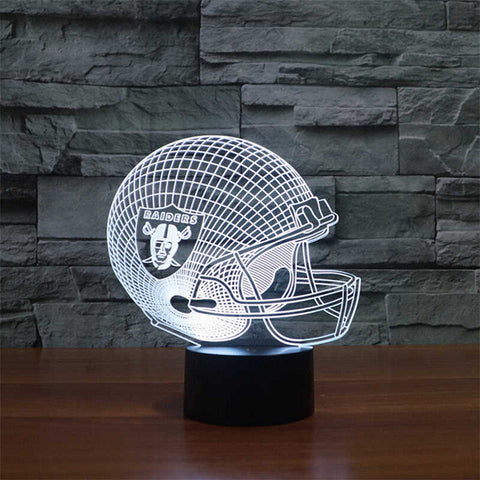 NFL Helmet LED light,- Aesthetic rave party cool clotheS APPAREL replica yeezy shoes