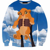 Baby simba sweatshirt,- Aesthetic best website to buy quality replica ua adidas yeezy boost 350 v1 and v2 sneakers