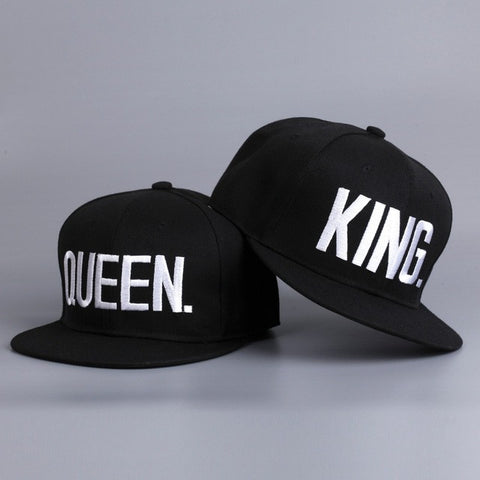 King and Queen Snapback (set),- Aesthetic best website to buy quality replica ua adidas yeezy boost 350 v1 and v2 sneakers