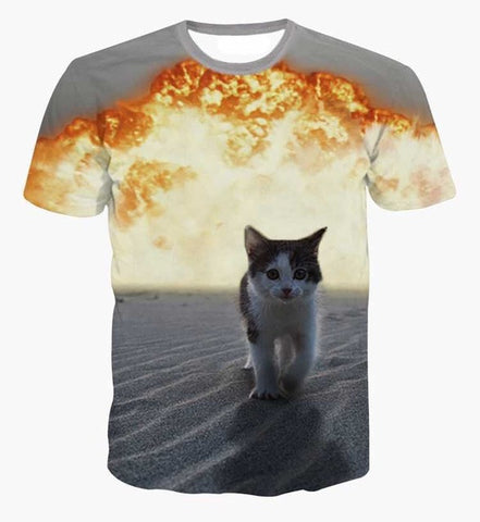Badass cat Tshirt,- Aesthetic best website to buy quality replica ua adidas yeezy boost 350 v1 and v2 sneakers