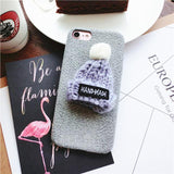 iphone 3d phone cover case with mini beanie for texting comfort,- Aesthetic best website to buy quality replica ua adidas yeezy boost 350 v1 and v2 sneakers