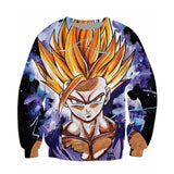 Gohan super saiyan unisex Sweatshirt,- Aesthetic best website to buy quality replica ua adidas yeezy boost 350 v1 and v2 sneakers