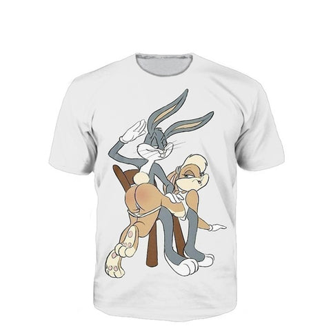 Naughty Bunnies Unisex Tshirt,- Aesthetic best website to buy quality replica ua adidas yeezy boost 350 v1 and v2 sneakers