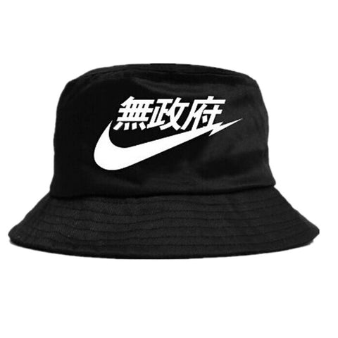 Anarchy Bucket Hat,- Aesthetic best website to buy quality replica ua adidas yeezy boost 350 v1 and v2 sneakers