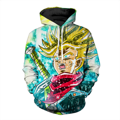 Anime 3D Dragon Ball Z Super Saiyan Hoodie,- Aesthetic best website to buy quality replica ua adidas yeezy boost 350 v1 and v2 sneakers