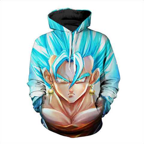 Anime Dragon Ball Z Super Saiyan Hoodie,- Aesthetic best website to buy quality replica ua adidas yeezy boost 350 v1 and v2 sneakers