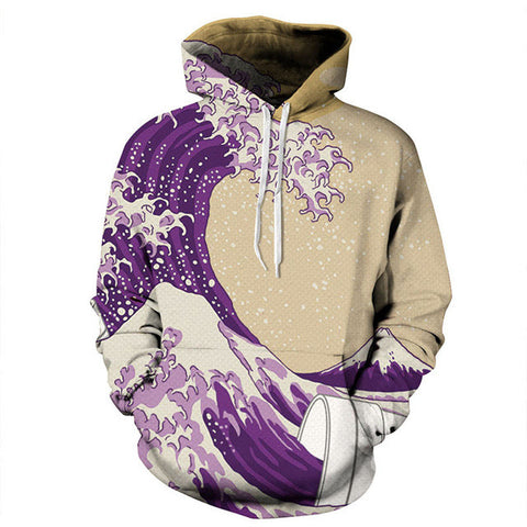 Purple Mud Unisex Hoodie,- Aesthetic rave party cool clotheS APPAREL replica yeezy shoes