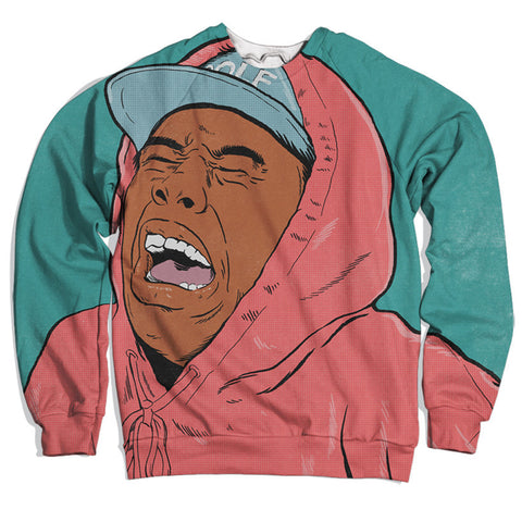 crying tyler the creator sweatshirt,- Aesthetic rave party cool clotheS APPAREL replica yeezy shoes