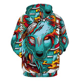 fierce Wolf hoody,- Aesthetic best website to buy quality replica ua adidas yeezy boost 350 v1 and v2 sneakers