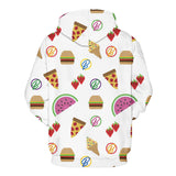 Raining food hoodie,- Aesthetic rave party cool clotheS APPAREL replica yeezy shoes