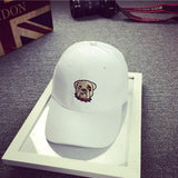 AestheticPrints® Bulldog cartoon head snapback,- Aesthetic best website to buy quality replica ua adidas yeezy boost 350 v1 and v2 sneakers