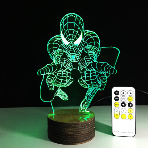 Spider man LED lamp,- Aesthetic best website to buy quality replica ua adidas yeezy boost 350 v1 and v2 sneakers