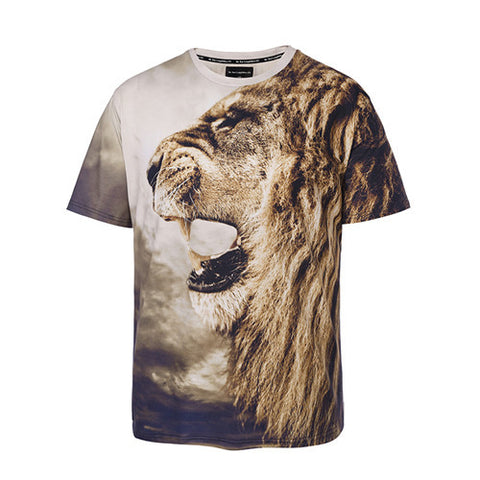 Roaring Lion tshirt,- Aesthetic rave party cool clotheS APPAREL replica yeezy shoes
