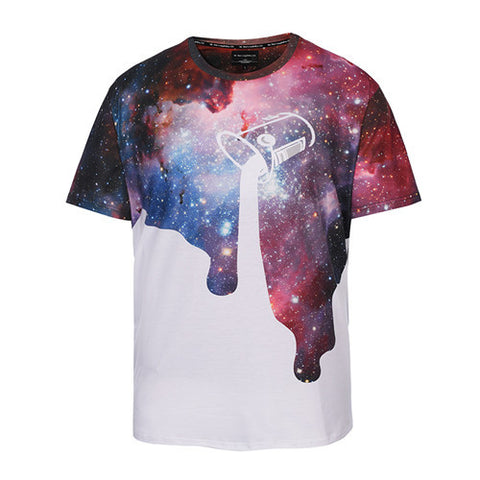 Aesthetic Space Paint Tshirt,- Aesthetic best website to buy quality replica ua adidas yeezy boost 350 v1 and v2 sneakers