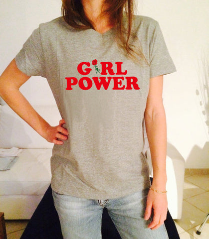 Girl Power Feminist tshirt,- Aesthetic best website to buy quality replica ua adidas yeezy boost 350 v1 and v2 sneakers