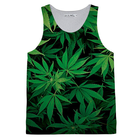 Weedleafs Tank top,- Aesthetic best website to buy quality replica ua adidas yeezy boost 350 v1 and v2 sneakers